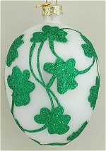Shamrock Eggs Set of 4