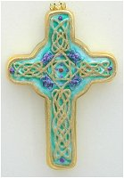 Celtic Cross Emerald